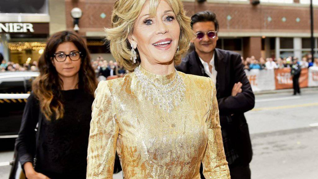 Jane Fonda: Hüllenloses Vergnügen mit Michael Jackson
