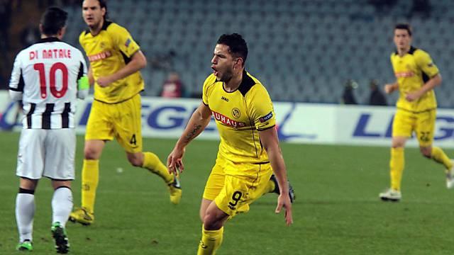 Raul Bobadilla brachte die Young Boys mit 1:0 in Führung.