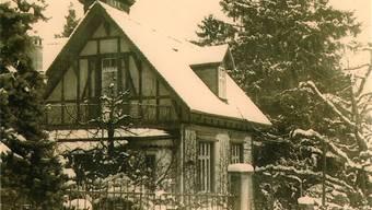 Seit 60 Jahren befindet sich im Haus Fürst-Frey an der Zürcherstrasse 24 die Kinderkrippe Baden. Stadtarchiv Baden