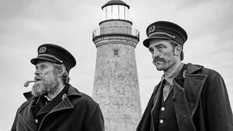 Zwei Leuchtturmwärter ringen in «The Lighthouse» mit sich selbst und einander: Willem Dafoe (links) an der Seite von Robert Pattinson.