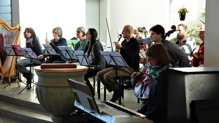 Präsentation Instrumente durch Musiklehrperseonen