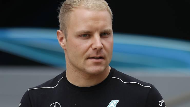 Valtteri Bottas war im ersten Training in Silverstone der Schnellste