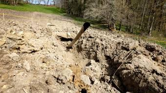 In Reigoldswil ist eine Gasleitung gebrochen