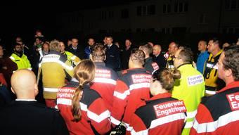 Erste Hauptübung der Feuerwehr Engstringen