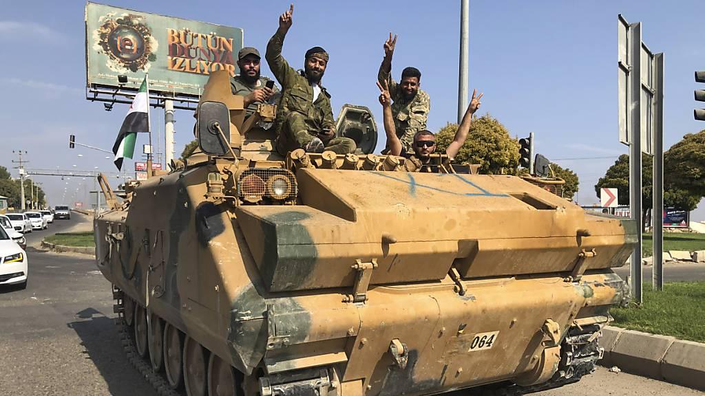 Nato bildet Krisenstab zu türkischer Offensive