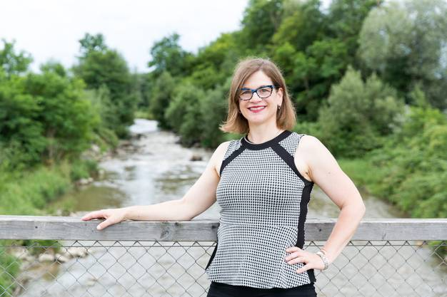 Die Aarauer Stadträtin Franziska Graf überlegt sich eine Kandidatur für den Regierungsrat.