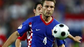 Robert Kovac im Dress der kroatischen Nationalmannschaft