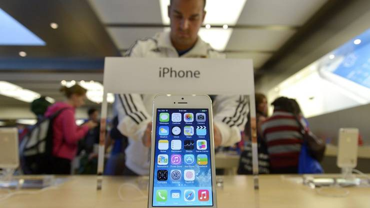 iPhone 5S - ab heute in den Regalen.