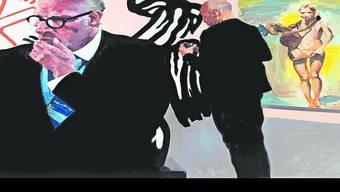 Der Galeriebesucher findet sich nur noch auf dem Bild «The Disconnect» von Eric Fischl.