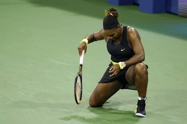 Serena Williams wartet weiter auf ihren 24. Grand-Slam-Titel.