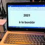 Das Sujet 2021 wurde über den Bildschirm ermittelt.