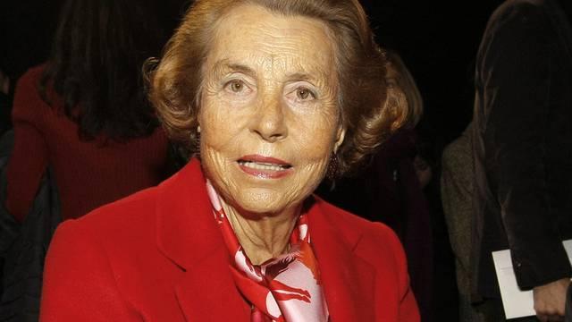 Die Milliardärin Liliane Bettencourt (Archiv)