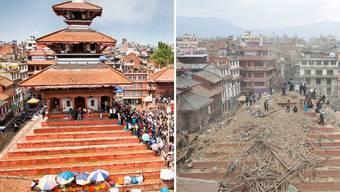Zerstörtes Kulturerbe: Nepal nach dem Erdbeben