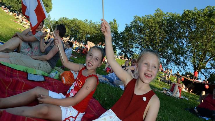 Ein 1. August ohne offizielle Feier: Das droht Binningen (Foto: Bundesfeier Bruderholz 2013).