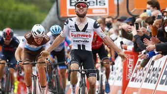 Marc Hirschi bei seinem Sieg bei der Flèche Wallone