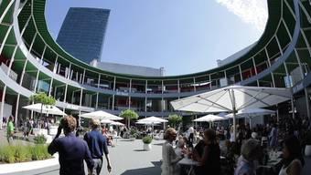 Die Art Basel als Ufo in der Stadt?