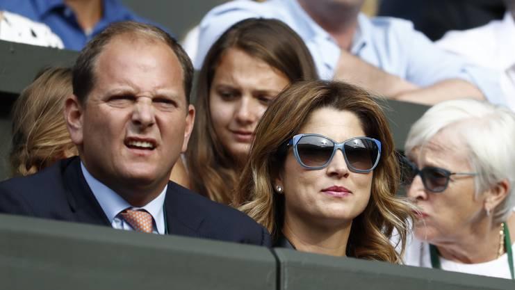 Der Manager. Nett im Umgang, hart in der Sache. Der Manager aus den USA hat aus Federer eine Marke von Weltformat geformt.