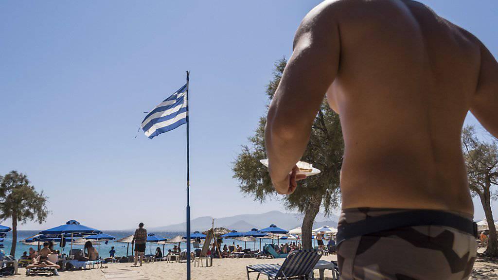 Auch auf der griechischen Insel Naxos wird ab Donnerstag die Mehrwertsteuer erhöht (Archivbild).