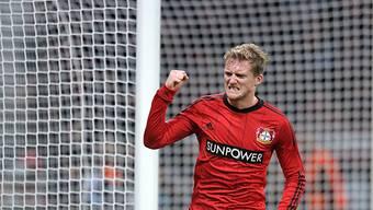 Leverkusens Andre Schürrle traf zum zwischenzeitlichen 2:1.