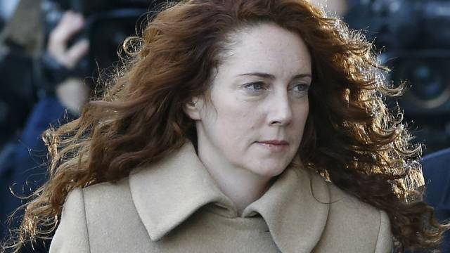 Rebekah Brooks vor dem Gericht Old Bailey in London