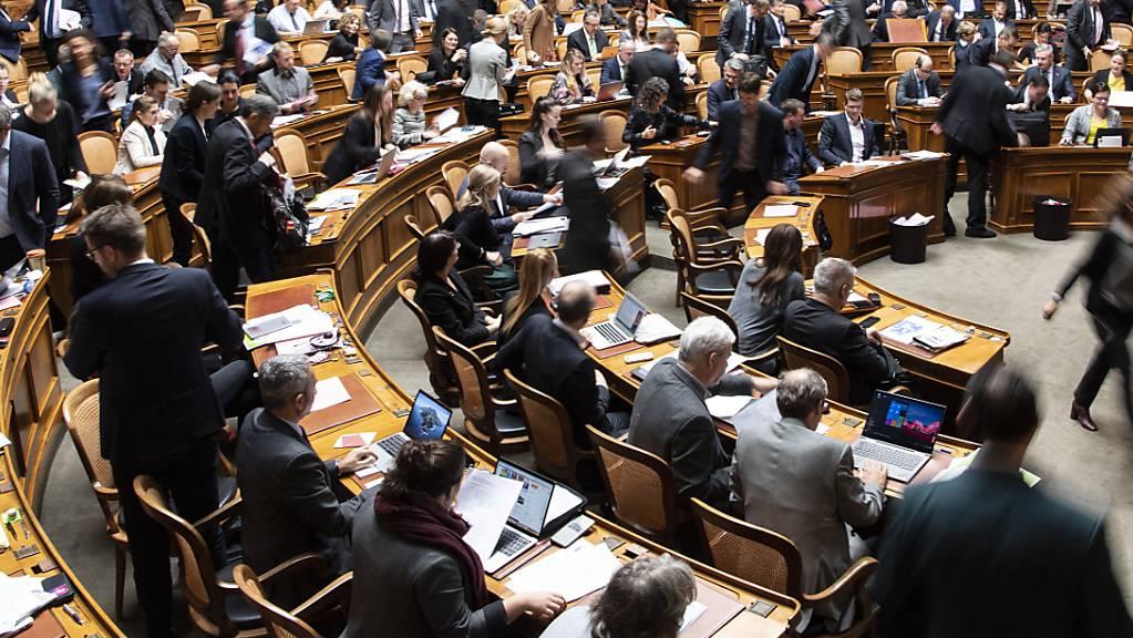 Wegen des sich ausbreitenden Coronavirus gilt ein neues Regime im Parlamentsgebäude. (Themenbild)