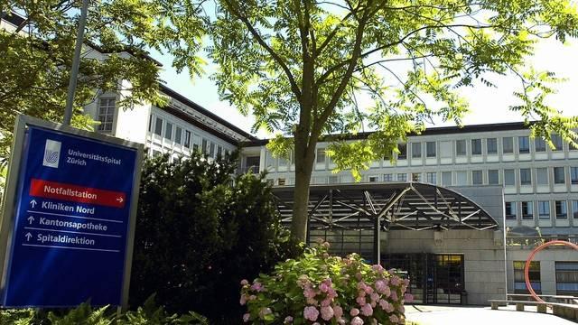 Blick auf das Unispital Zürich (Archiv)