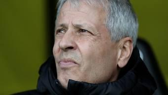 Offene Zukunft: Noch ist unklar, ob Lucien Favre auch in der nächsten Saison Trainer von Borussia Dortmund bleibt