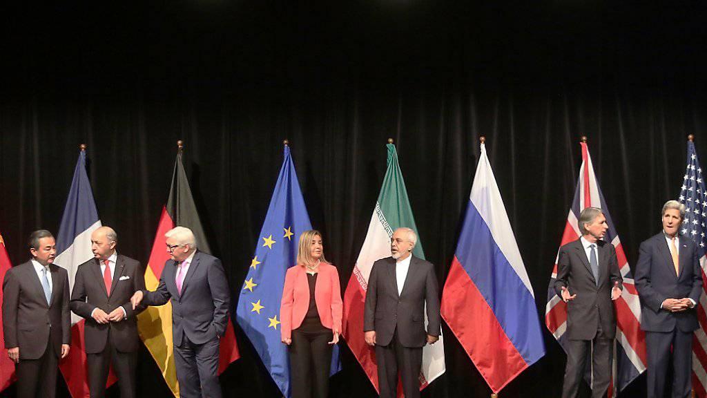 Das Atomabkommen mit Iran war am 14. Juli in Wien unterzeichnet. (Archiv)