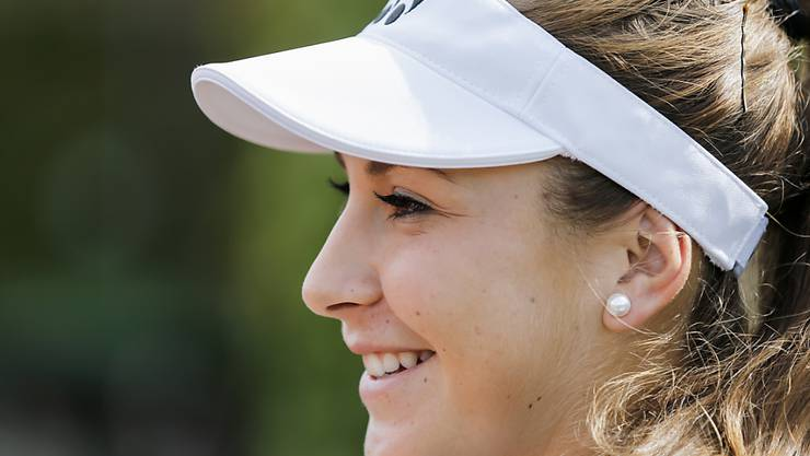 Belinda Bencic hat allen Grund zufrieden zu sein