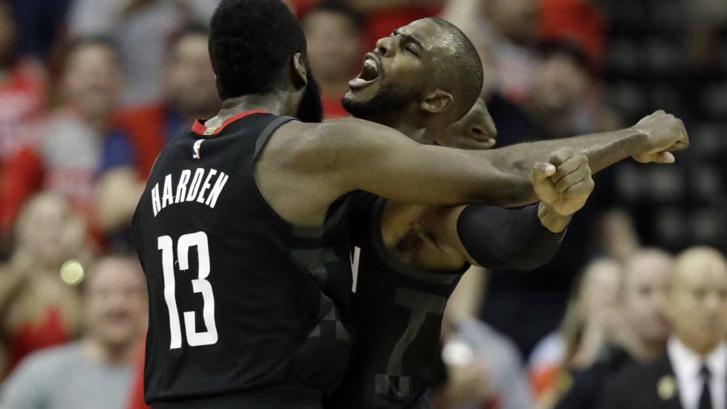 James Harden und Chris Paul sind das neue Traumduo bei den Houston Rockets