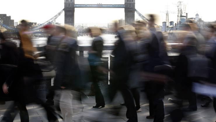 In Grossbritannien sind so viele Menschen erwerbstätig wie noch nie. (Symbolbild)