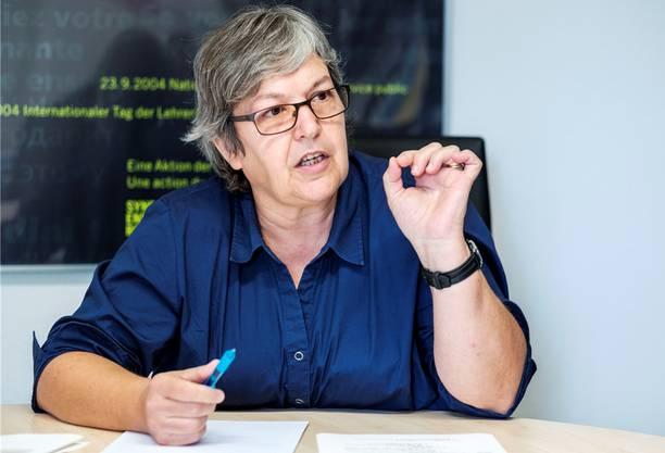 «Jetzt geht es der Bildung im Aargau definitiv an den Kragen.» Elisabeth Abbassi, Präsidentin Aargauer Lehrerinnen- und Lehrerverband
