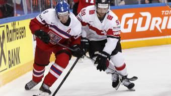 Eishockey-WM 2015: Schweiz gegen Tschechien