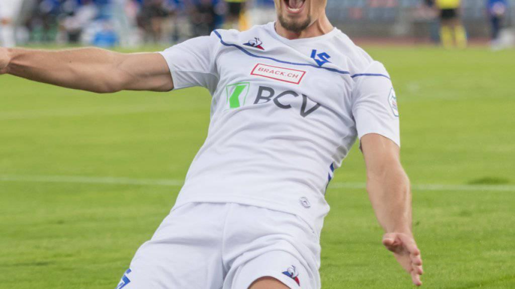 Lausanne-Sport übernimmt mit 4:0-Sieg die Spitze