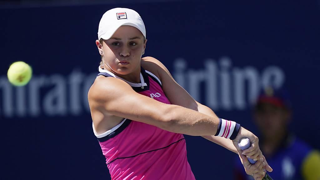 French-Open-Siegerin Barty ausgeschieden