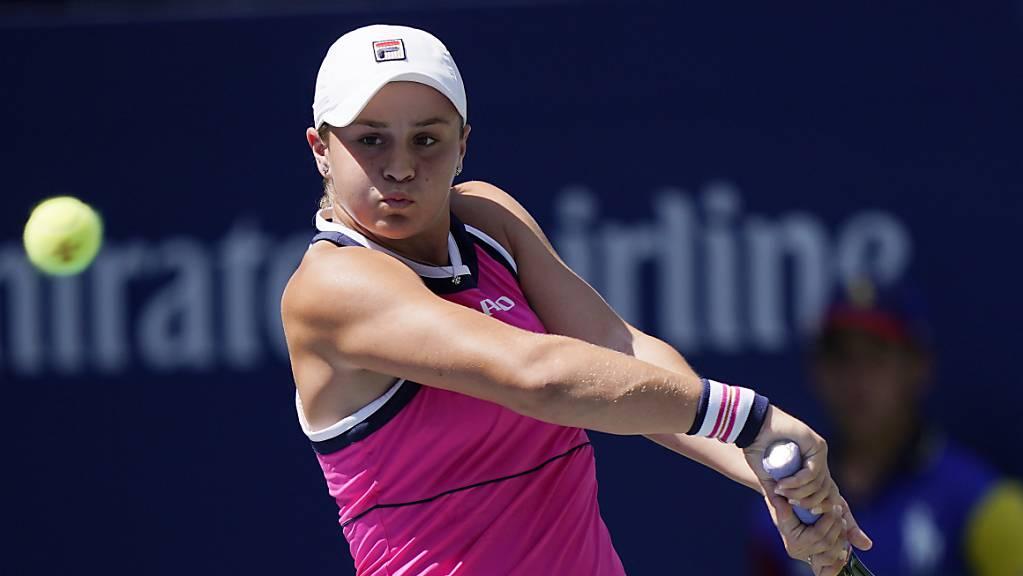Ausgespielt: Die French-Open-Siegerin Ashleigh Barty scheiterte am US Open wie in Wimbledon früh