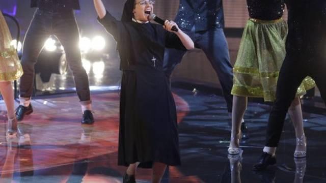 Suor Cristina zieht ihren Sister Act ins Finale weiter (Archiv)
