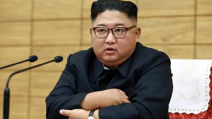 Fühlt sich von den USA provoziert: Nordkoreas Machthaber Kim Jong Un. (Archivbild)