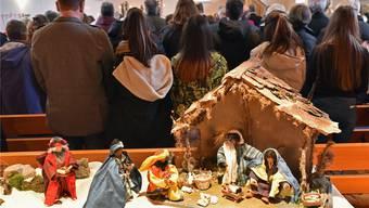 Die Kirchen der Region sind in der Weihnachtszeit gut besucht. In anderen Zeiten – mit Ausnahme von Ostern – sind sie eher leer.