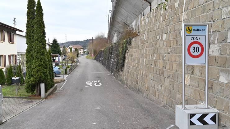Eines der Haupttraktanden der Generalversammlung: Die Strassensanierung des Dammwegs in Dulliken.