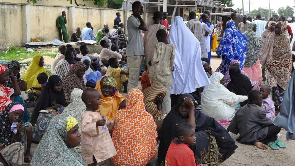 Vor allem Frauen und Kinder: Armee in Nigeria befreit 61 Personen aus den Händen von Boko Haram in Nigeria. (Symbolbild)