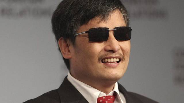Chen Guangcheng bei seinem ersten grossen öffentlichen Auftritt in den USA