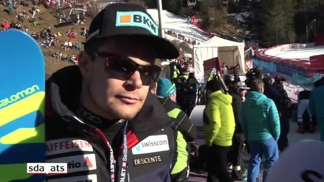 Patrick Küng über Resultat enttäuscht, Gilles Roulin sehr zufrieden
