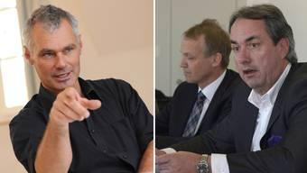 Michael Wüthrich (l.) und Paul Blumenthal haben Streit.