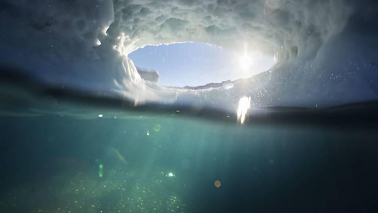 In Grönland reichen viele Gletscher bis tief ins Meer. In mehr als 200 Meter Tiefe schmelzen die Eismassen schneller als knapp unter der Meeresoberfläche.