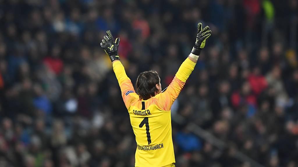 Yann Sommer verlängert bei Mönchengladbach