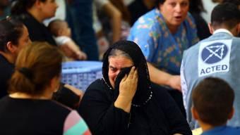 Aus Mossul geflüchtete Christen werden in Erbil aufgenommen