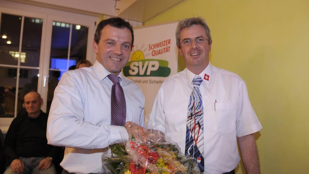Interview mit dem neuen SVP Solothurn-Präsident Walter Wobmann