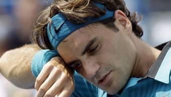 Schwerstarbeit für Roger Federer in Cincinnati