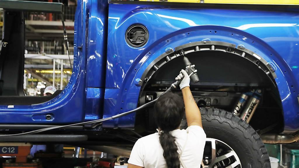 US-Industrie wächst so kräftig wie seit drei Jahren nicht mehr